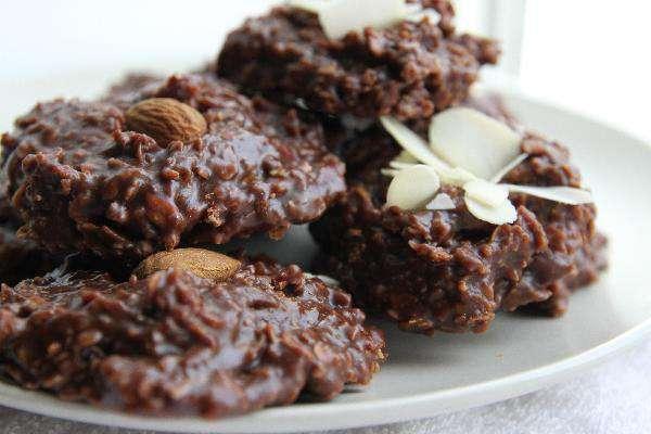 Шоколадное печенье без выпечки или