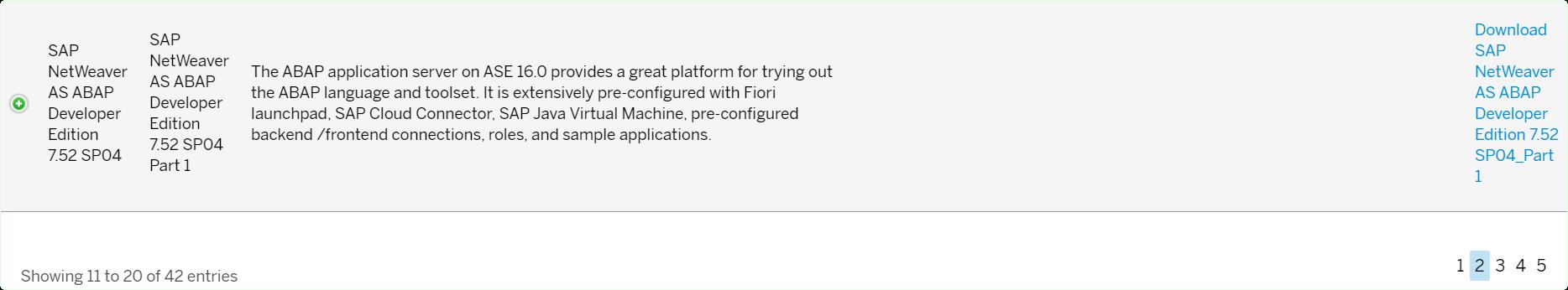 SAP Application