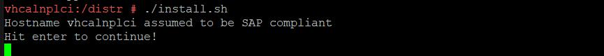 Install SAP