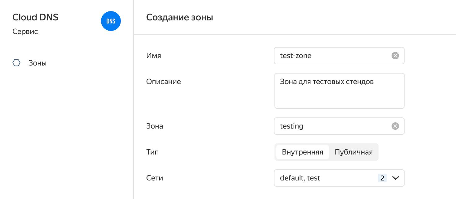 DNS как сервис