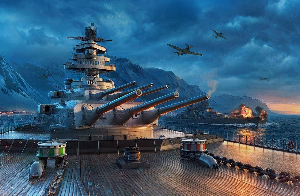 World of Warships - игра в жанре Экшен,Симулятор,Морские пехотинцы,Боевые действия