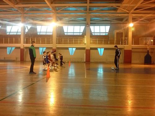 Тренировка Юниора в Москве