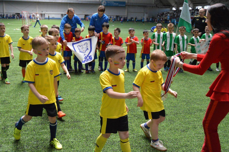 детский футбол в омске