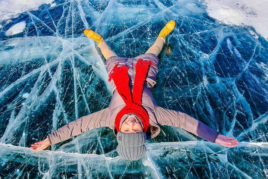 Путешествие к космическим льдам Байкала