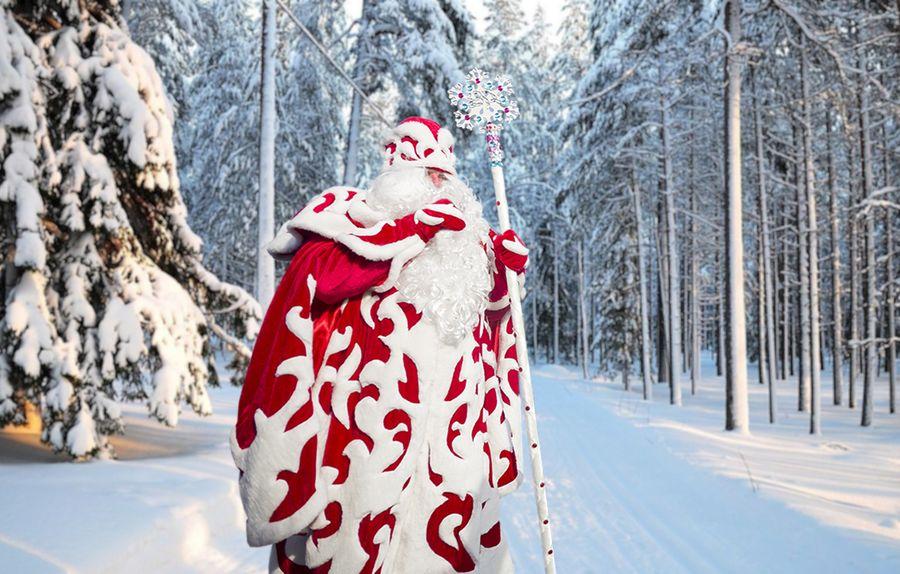 Дед Мороз, с днём рождения!