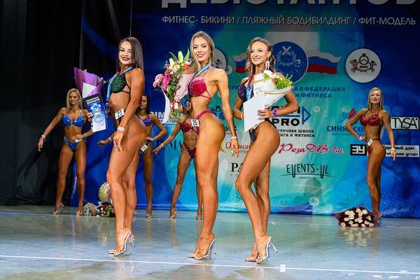Во Владивостоке выбрали обладателей самых совершенных тел