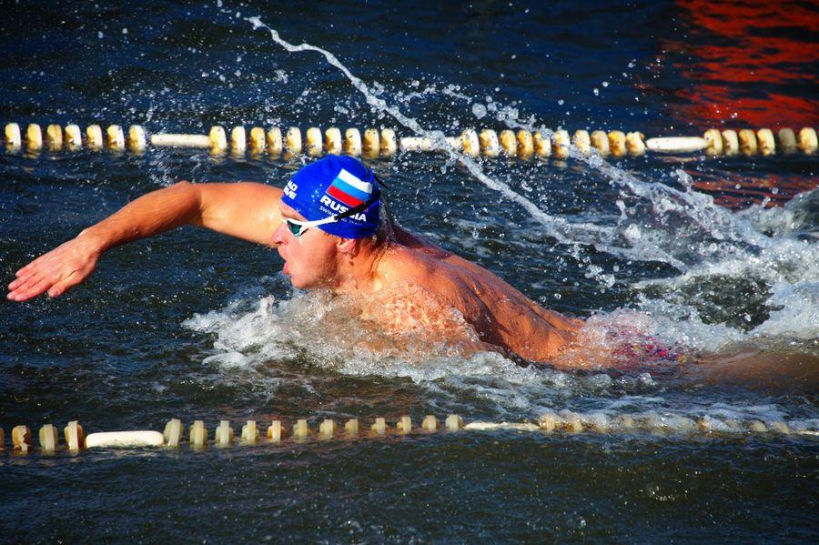 Фестиваль зимнего плавания во Владивостоке: и снова мировой рекорд