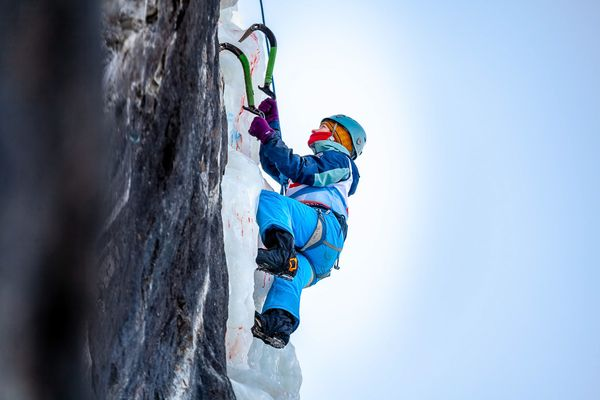 Покоряя ледяную вершину