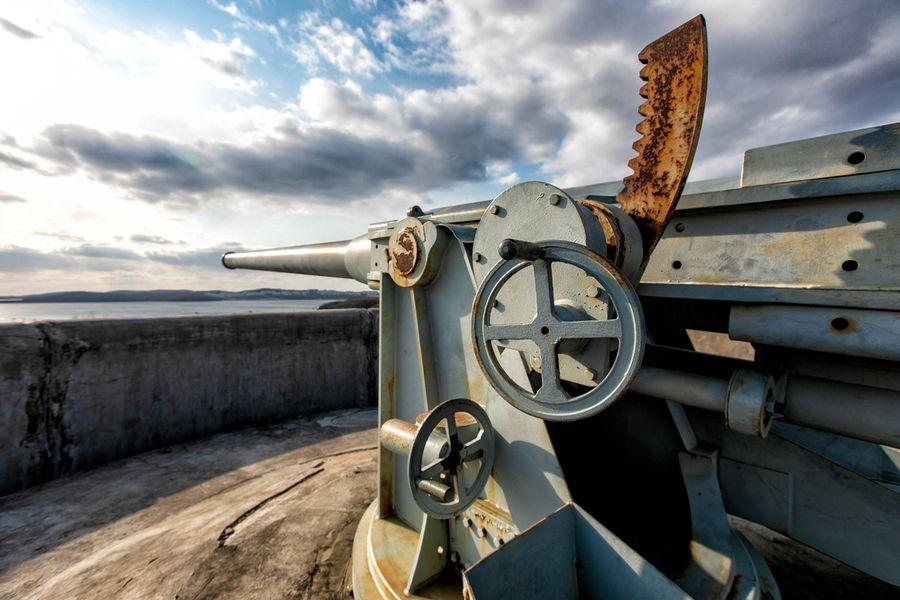 В объективе – Владивостокская крепость