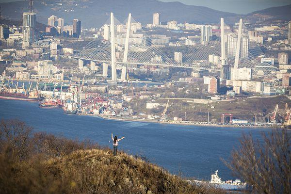 Самая высокая точка дважды русского острова