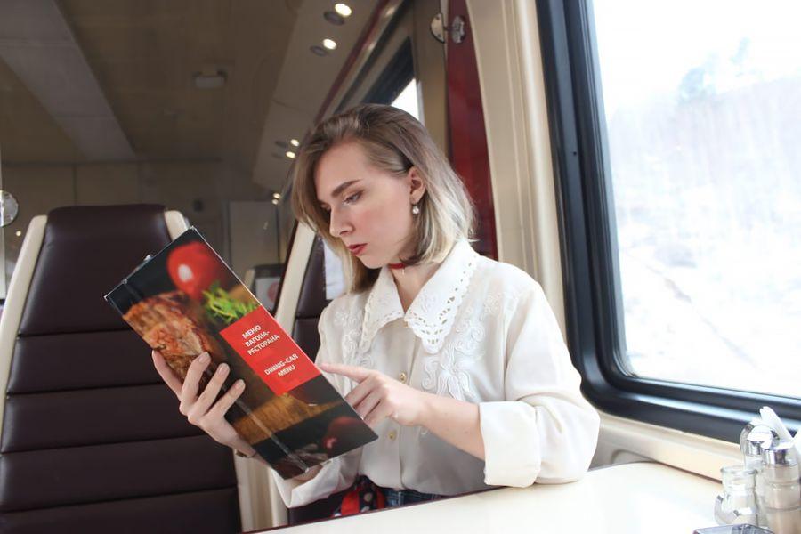 Владивосток-Москва и обратно: обедаем в вагоне-ресторане