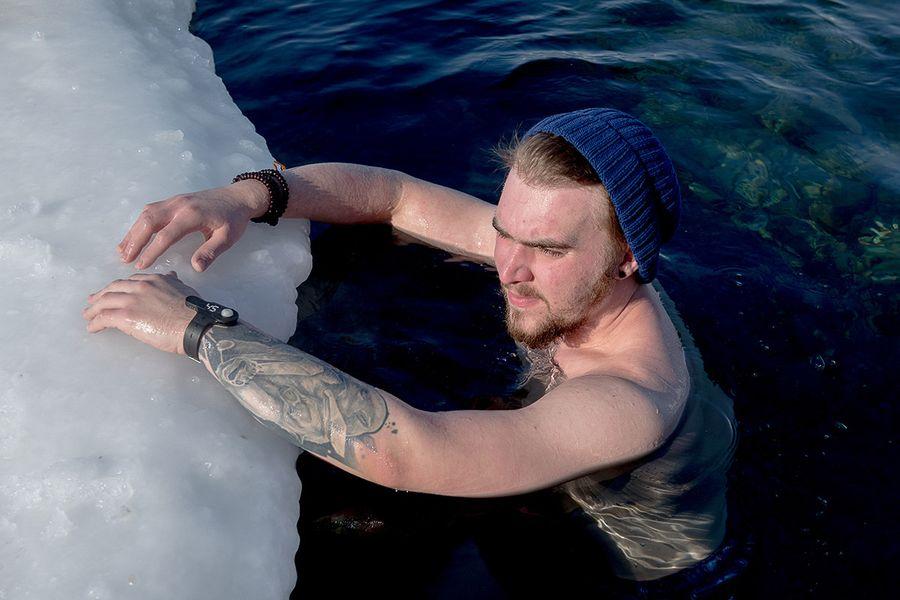 Морж из Владивостока: «Купаться приятней, когда вокруг льдины»