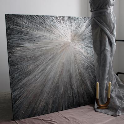Картины с эффектом металла в любой цветовой гамме