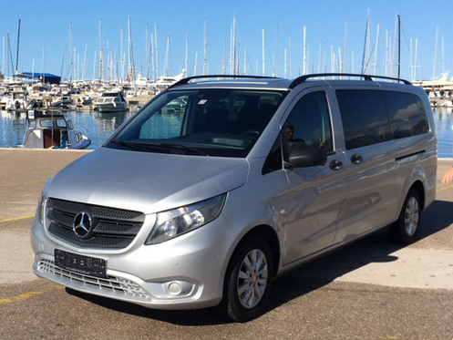 Mercedes Vito 9 мест  2016 год  2.2 дизель  168л.с.  автомат  aux, usb, bluetooth.  Возвратный депозит 500€