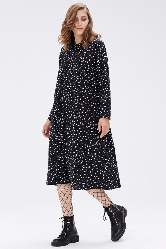 Платье-трапецияЛимитированная коллекция! Платье доступно только для покупки онлайн! Платье трапецевидной формы подойдёт и на каждый день, и для особого случая. В комплекте также идёт пояс, позволяющий подчеркнуть талию и создать более деликатный образ. (нет редактора)
