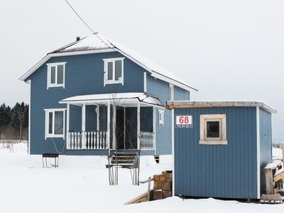 Дом на 110 м2. Утепление 150 ммВнутри и снаружи вагонкаЦена: 1 571 000 р