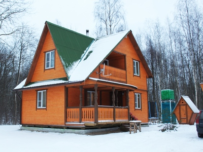 Дом 80 м2. Утепление 150 ммВнутри и снаружи вагонкаЦена: 1 327 000 р