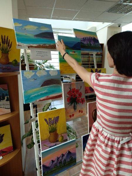 Выставка детских работ наших студентов