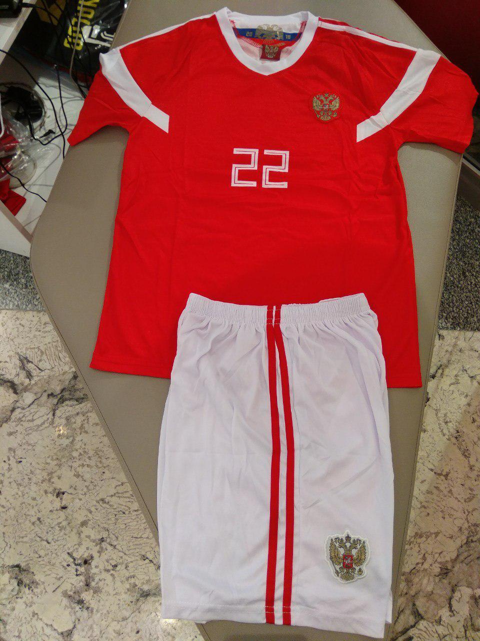 Детская футбольная формаРоссия,ДзюбаДетские: от 2 до 6 летПодростковые: от 6 до 14 летВзрослые: S, M, L, XL. XXLФутболка, шортыВ наличии1190руб.