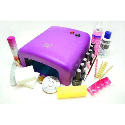 Набор ОПТИМАНабор включает все содержимое набора МИНИ +4 цветных гель-лака (на выбор),дотс,кисть,разделитель пальцев,глиттер,стразы,масло для кутикулы