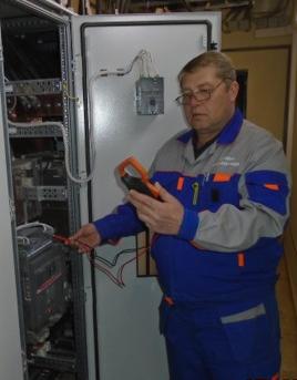 Группа по обслуживанию электросетей и оборудования.