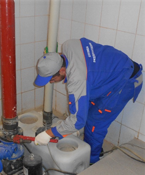 Группа тепло-водо канализационного хозяйства.