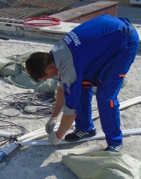 Группа по содержанию и ремонту зданий.