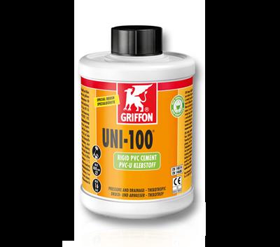 Клей Griffon UNI-100PVC-UСтрана производитель:НидерландыАртикул:6111042Применение: для ПВХот 16 до 315ммНаличие кистоки: с кисточкойОбьем: 500 мл.Упаковка: 12 шт.Цена: 1300 руб.