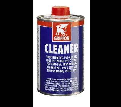 Обезжириватель Griffon CleanerСтрана производитель: НидерландыАртикул: 6307872Применение: для ПВХот 16 до 315ммОбьем: 500 мл.Упаковка: 6 шт.Цена: 1280 руб.