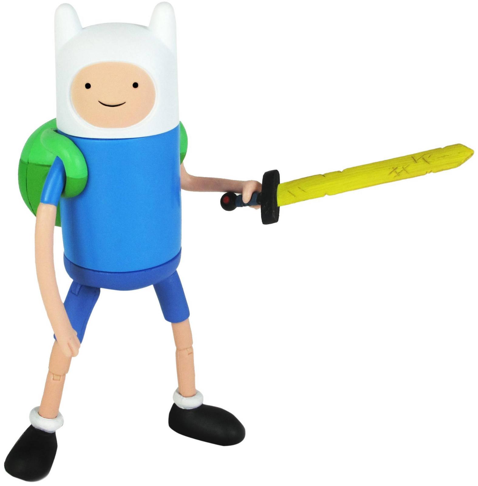 Фигурка Время приключений FinnКоллекция героев мультсериала Adventure Time. Фигурка из пластика 14 см. Финн (Finn ) – главный герой сериала представитель человеческой расы в мультфильме.