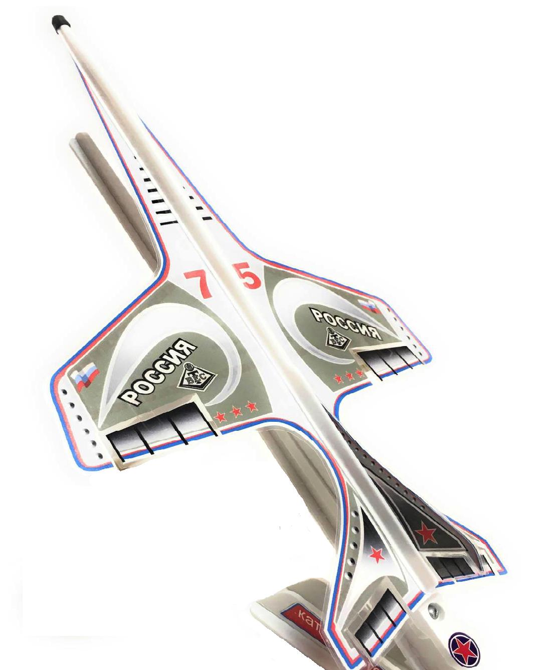 СтрижМодель летает прямо, по кругу и делает петлю Нестерова!Текст руководства по эксплуатации нанесен на блистерную тару.Прекрасная игрушка для юных и взрослых любителей авиации!