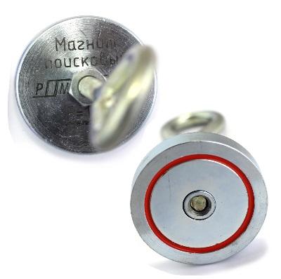 Односторонние поисковые магниты РедмагСила сцепления от 120 до 600 кг
