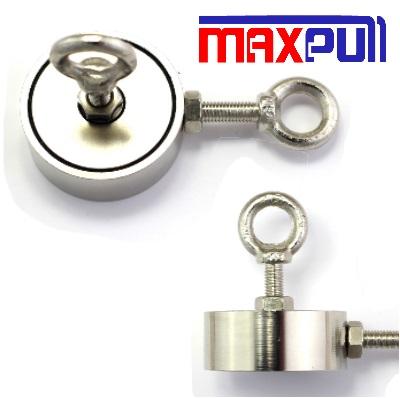 Двухсторонние поисковыемагниты MaxpullСила сцепления от 120 до 600 кг