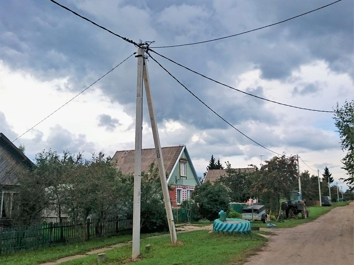 Строительство линий электропередач 0.4кВ