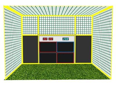 Компактный 4 -х секционный Аттракцион - Стартовая модель. Подходит для детей и взрослых, а также для сдачи в аренду аттракциона на мероприятия (Дни рождения, Корпоративы, Турниры по Футболу и ТимБилдинг)