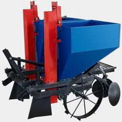 Картофелесажалки для минитрактораКартофелесажалка для минитрактора - позволяет механизировать процесс посадки картофеля .