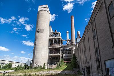 Обследование промышленных дымовых труб и высотных сооружений