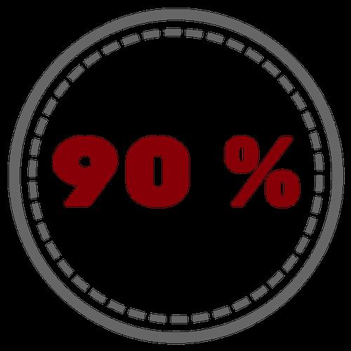 До 90% успехаДоказанная эффективность психотерапии при панических атаках у почти 90% пациентов