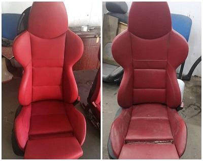 Сиденья БмвРеставрация кожи сидений с покраской 8000 за одно сиденье