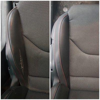 Ремонт сиденья Seat LeonПерешив 1-го элемента боковой поддержки