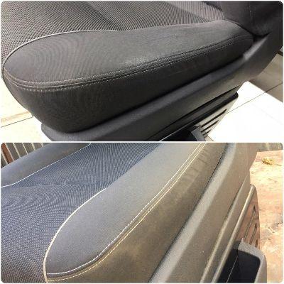Ремонт сиденья VW T5Перешив 2-х элементов и восстановление основы боковой поддержки
