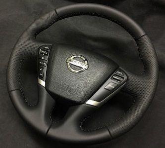 Nissan TeanaПерешив руля премиальной экокожей Nappa с перфорациейцена5000