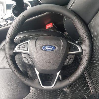 Форд Мондео 5перетяжка руля с подогревомNappa с перфорацией стоимость 5500