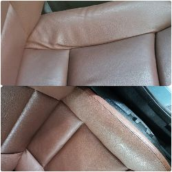 Ремонт сиденья BMW 5Ушив элемента и восстановление основы боковой поддержки