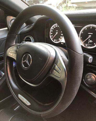Mercedes S-Classe W222 AMGПеретяжка руля Nappa + Alcantaraцена 10000