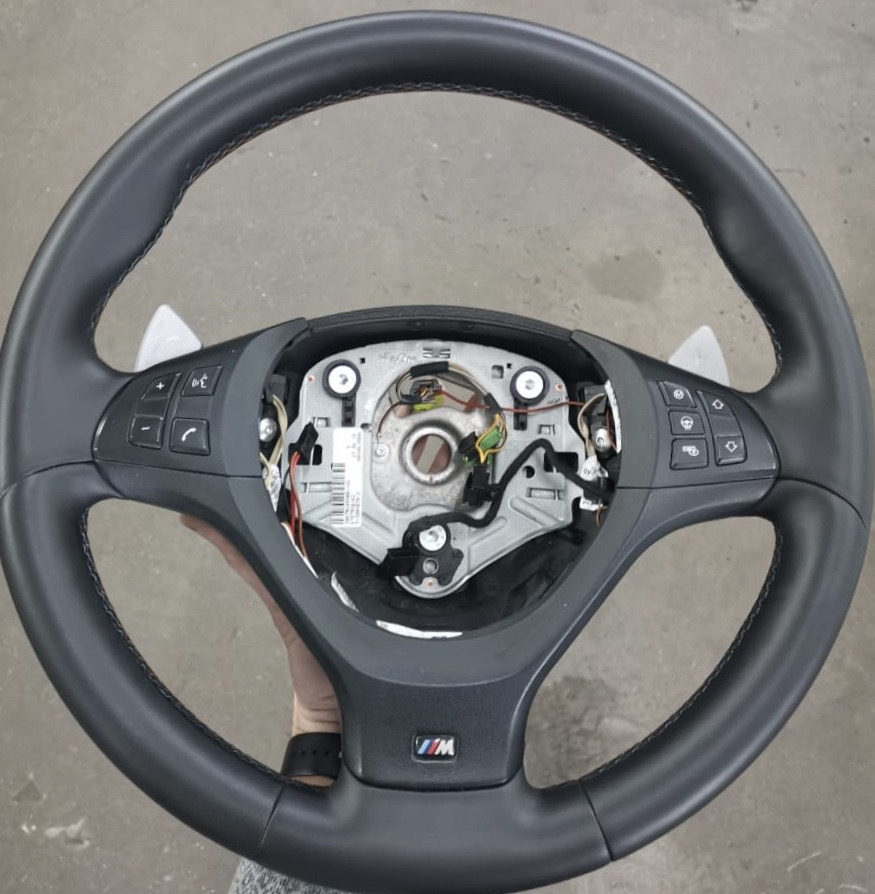 Покраска руля BMW-Mгарантия 1 год