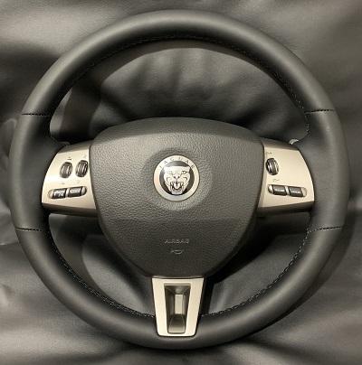 Перетяжка руля автомобиля JaguarНаппа6000