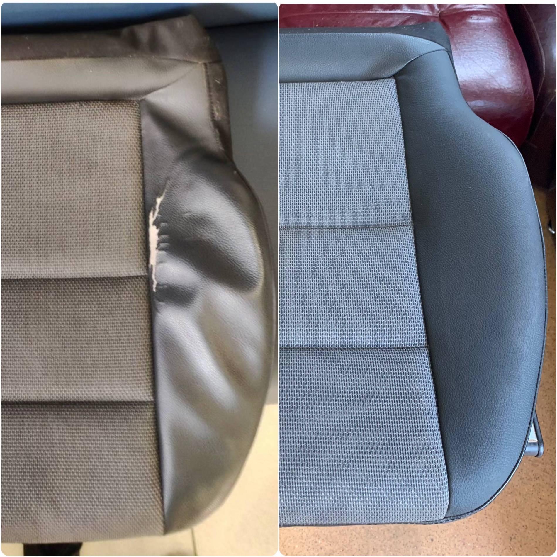 Ремонт сиденья Мерседесперешив элемента боковой поддержки под оригинал