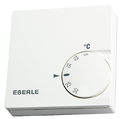 Механический терморегулятор с датчиком температуры Eberle RTR-E 61211 150 pуб.