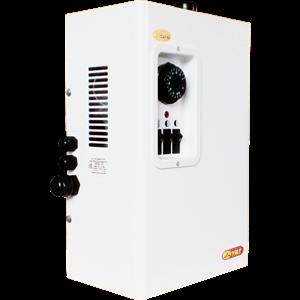Электрокотел Сангай с механическим ПУ 3 кВт (ЭВПМ- 3)Диаметр патрубков: G1Отапливаемая площадь: 30 м2Мощность: 3 кВт